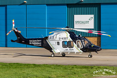 G-KSST (Paul Beale Photography) Tags: life uk paul photography airport aviation flight gloucestershire helicopter emergency westland services beale agusta specialist finmeccanica ksst aw169 gksst
