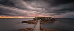 Bare-Island (tara.bowen) Tags: longexposure water sunrise canon island sydney australia nsw bareisland