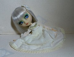 The Girl in White (MlleChantilly) Tags: blue white doll dolls gothic groove pullip prunella hnaoto junplanning