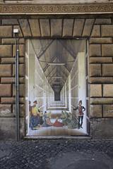 Aldo Rossi - PeruginoRoma, 2016. (RO.BO.COOP.) Tags: urban streetart rome paper poster modena architettura postmodernism aldorossi arteurbana robocoop streetartrome romabolognacooperazione