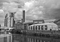 Grand Union Canal (D_Alexander) Tags: uk england london grandunioncanal alperton blackandwhitephotography northwestlondon