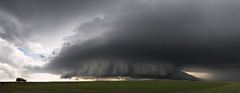 Boyes Supercell Panoramic (Kelly DeLay) Tags: panorama weather montana panoramic stormchasing greatplains stormscape supercell weatherphotography