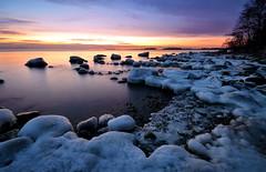 Frozen Shoreline (tinamar789) Tags: winter sea seascape cold ice landscape frost seashore lauttasaari