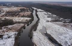 Halliste river (BlizzardFoto) Tags: bridge ice water village flood aerialphotography vesi j icejam sild riisa soomaa aerofoto kla leujutus soomaanationalpark soomaarahvuspark viiesaastaaeg hallistejgi jminek riverhalliste