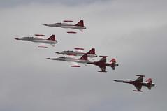 04th July 2010 RAF Waddington Airshow (rob  68) Tags: 04th july 2010 raf waddington airshow northrop grumman canadair f5a f5 cl226 turkish stars aerobatic team jet