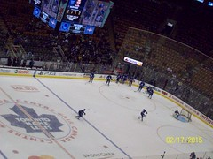 Toronto Maple Leafs Warmups Feb 17th 2015 (Musicluver12) Tags: toronto nhl maple leafs