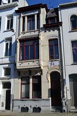 Architectenwoning Jacques De Weerdt, Antwerpen (Erf-goed.be) Tags: geotagged antwerpen archeonet architectenwoning geo:lat=512077 oostenstraat jacquesdeweerdt geo:lon=44253 denherfst