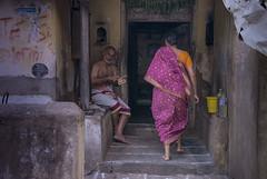 Mylai streets #2 (Mahendiran Manickam) Tags: mahemanickphotography mylapore madras tamilnadu morning rangoli kolam margazhi thai street agraharam 28300 nikon d800