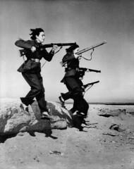 Egypt  Army  Women  Guerrillas