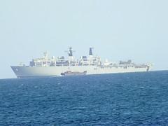 HMS Bulwark at work (mukaloon) Tags: ship craft landing helicopter landingcraft royalnavy hmsbulwark