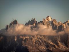 Srnit du Soir (Frdric Fossard) Tags: glacier soir chamonix rocher calme ambiance cime aiguille pierrier paroi aiguillesdechamonix aiguilleduplan massifdumontblanc blaitire balconnord lesgrandscharmoz