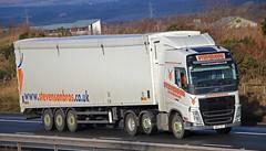 VOLVO FH -STEVENSON Avonbridge (scotrailm 63A) Tags: stevenson trucks lorries