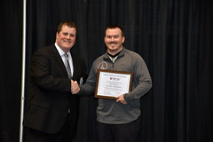 Patrick Krause - Wrestling Official of the Year (SD Public Broadcasting) Tags: sports wrestling awards sdpb southdakotahighschoolactivities sdhsaa