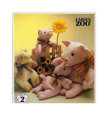 McCalls 733 Pig Piglet Toy Sewing Pattern (findcraftypatterns) Tags: toy uncut zoo pig stuffed soft pattern child sewing sew gift easy piglet carols 2160 733 mccalls 15pigorsmaller12