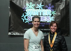 15K Feb. 27 Women's masters winners Doreen Fanton and 3rd place MaryLyn Schmidt
