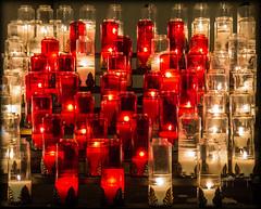 Hommage aux victimes  de Bruxelles (josboyer) Tags: lumière lampions bougie