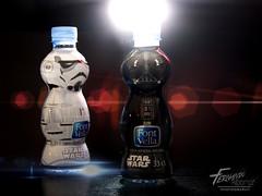 Water bottles - Star Wars 03 (Fernando Albornoz) Tags: storm trooper water studio toys lights star bottle flash darth wars vader product strobist