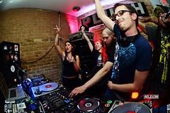 dj Trademark and Reid Speed at SXSW 2016 (4ELEVEN Images) Tags: friends party people nikon dj mixer technics nightclub sxsw pioneer 1200s drumandbass 2016 reidspeed 4eleven plushaustin