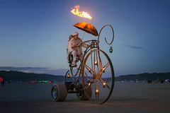 Burning Man the annual #festival that takes place at Black Rock City (PhotographyPLUS) Tags: pictures graphics photos illustrations images stockphotos articles footage stockimage freephoto stockphotograph