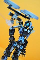 Decibelle_20 (Shadowgear6335) Tags: orange radio robot factory lego good technic hero bionicle mech moc shadowgear6335 bionicle2015