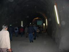 Grossti in der Baustelle des NEAT - Tunnel - Neattunnel bei Blausee im Kandertal im Berner Oberland im Kanton Bern der Schweiz (chrchr_75) Tags: hurni040612 hurni christoph schweiz suisse switzerland swiss svizzera chrchr chrchr75 chriguhurni chrigu neat tunnel chunnel juni 2004 albumgrossti albumfamilie grossti suissa chriguhurnibluemailch familie