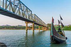 Reju Khal, Cox's Bazar, Bangladesh (AVI5HEK) Tags: bridge boat bangladesh hdr bazar coxs sampan khal reju