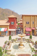 NAKHON RATCHASIMA, THAILAND - April 16, 2016 : Palio Khao Yai is an Italian-themed shopping center & 1 of popular landmarks in the heart of Thailand's wine country. (2 hrs. northeast of Bangkok) (enchanted.fairy) Tags: