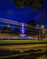 Seville - Spain -> Instagram : @rodlilo (rgm_fotografia) Tags: longexposure trip travel light vacation espaa lightpainting night sevilla spain nikon espanha europa europe seville noite urbano lightroom longaexposio sevilha lighttrail longexpo d3300