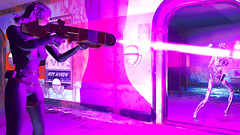 577 (Beth Amphetamines) Tags: pink wallpaper outfit screenshot mix pretty factory purple general ghost rifle shell running gits beam synth laser inthe scared terminator blast lazer kusanagi purplehair terrified motoko gen1 atomics fallout4