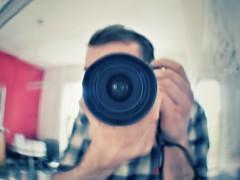 #8 Project365 - Curved Selfie (davidjmclare89) Tags: 35mm project lens mirror nikon 8 daily 365 dslr curve dx selfie dxlens project365 d3300