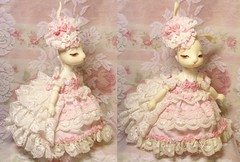 Dream cake dress (untavain) Tags: cute bunny doll kawaii bjd dollclothing