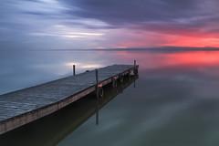 la albufera (OAG007) Tags: valencia lago atardecer spain paisaje albufera