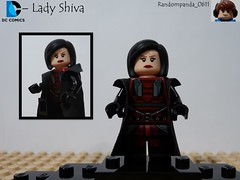 Lady Shiva (Random_Panda) Tags: comics book dc comic lego fig character books super hero figure superhero characters heroes minifig minifigs superheroes figures figs minifigure minifigures