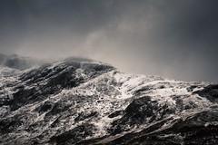 The Departing Storm (Matthew Nuttall Photography) Tags: cloud snow mountains weather landscape scotland perthshire cliffs scottishlandscape lochannalairige uklandscape