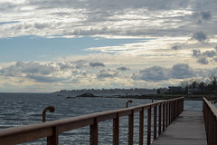 One With Myself (viva_visuals) Tags: ocean life bridge beach water beautiful clouds landscape pier dock nikon longisland d3300