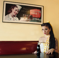 I coulda been a contender (coollessons2004) Tags: portrait vintage coke cocacola brando onthewaterfront krystalsmith
