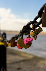 Locked Up (Andrew Gibson.) Tags: wedding building architecture liverpool key chain padlock albertdock loveheart sonya7ii