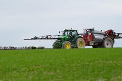 John Deere 7530 - Horsch Leeb 6GS (Au Fil Des Champs-Baptiste.G) Tags: tractor john au farming champs fil des deere baptiste orge leeb 7530 pulvrisation horsch azote