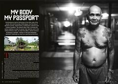 SkinDeep - My Body, My passport (Borneo topics) (P_mod) Tags: tattoo ink borneo iban skindeep dayak