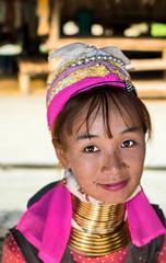 Karen Hill Tribe Girl (Imagine Imagery) Tags: travel thailand fuji x karen tribes hilltribe