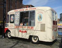 The Liverpool Ice Cream Company vendor's van (Apr 13th 2016) (RETRO STU) Tags: liverpool beatles albertdock theliverpoolicecreamcompany kellysdairyicecream