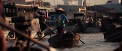 River Market (Stxtch) Tags: travel river boats asia market vietnam adventure rowing cinematic