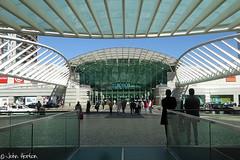 Aspects of Lisbon 121 (Row 17) Tags: city people urban portugal glass architecture lisbon shoppingmall shops