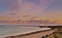 welcome summer (nelsonjose) Tags: longexposure summer sunrise landscape iceland ligthhouse canon1740l canon6d