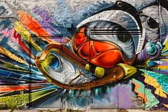 Doorway To Oz (Bert CR) Tags: art graffiti colorful downtown doorway keystone graffitiart brilliantcolor directlight artistscoop keystonechildyouthandfamilyservices doorwaytooz