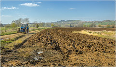 Job Done (Badby) (Darwinsgift) Tags: tractor zeiss 35mm spring nikon mud farm northamptonshire carl f2 badby ploughing distagon daventry d810