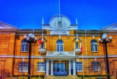 Toronto Ontario ~ Canada ~ CNE Press Building ~ 1905 ~ Canadian National Exhibition Heritage Building