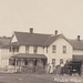 UP Flech MI RPPC RARE 1915 View Downtown Flech Mercantile & USPS Post Office Hotel and more Dirt Streets Horse & Buggy and early Auto Era Photographer CONANT2