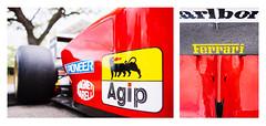 Oldschool F1 - Ferrari 412 T1B (ahh.photo) Tags: red car orlando angle fiat perspective f1 ferrari celebration marlboro formula fujifilm 1994 formula1 pioneer sponsors decals agip xt1 vsco exoticcarfestival 412t1b xf23mmf14r