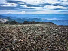mountain top foot massage (ma vie en rouge) Tags: newzealand texture rocks scree marlborough thruhike teararoa screefield mountrichmondforestpark mountrintoul